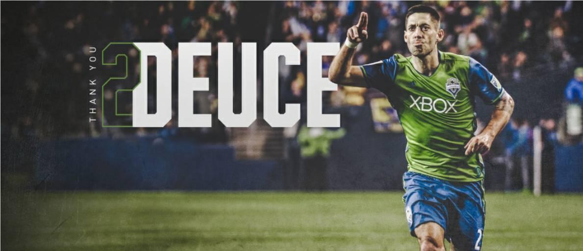 DEUCE CALLS IT QUITS: U.S. international standout Clint Dempsey announces his retirement