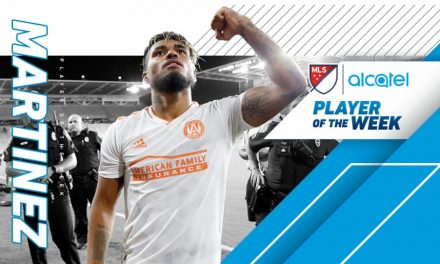 PLAYER OF THE WEEK: MLS honors Atlanta striker Martinez