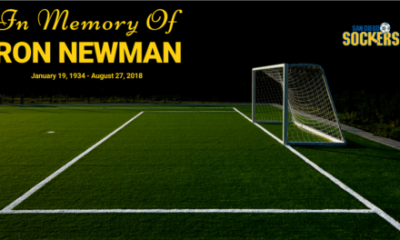 THE PASSING OF A LEGEND: Ron Newman, championship indoor and outdoor soccer coach, dies