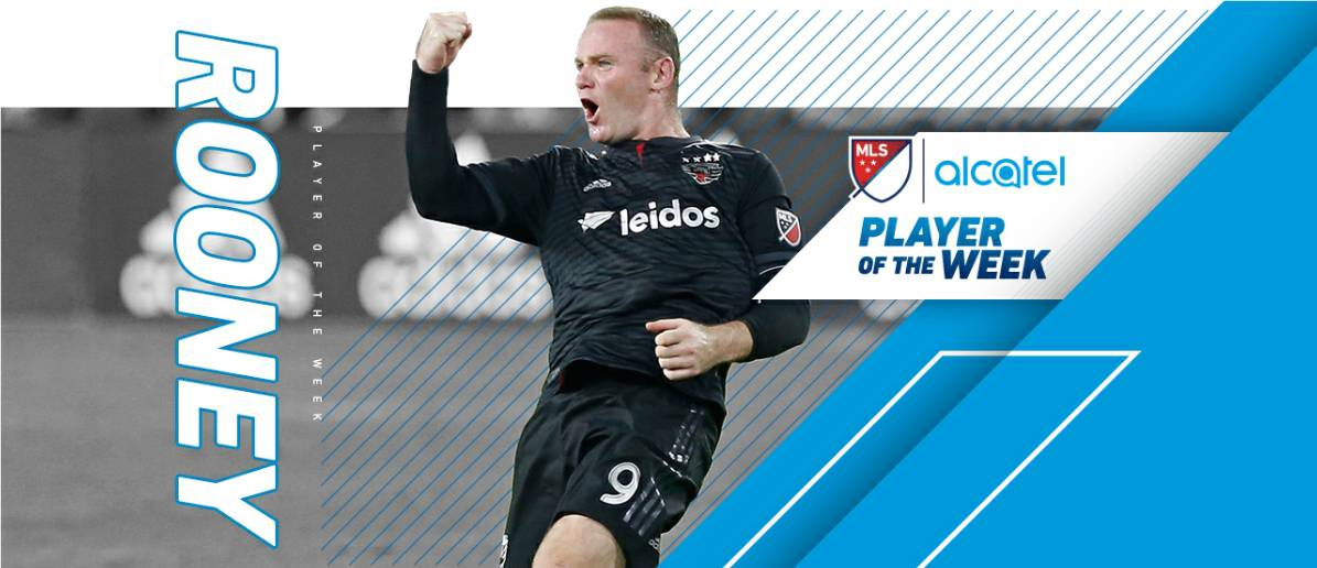 WAYNE'S WORLD: Rooney named MLS player of the week