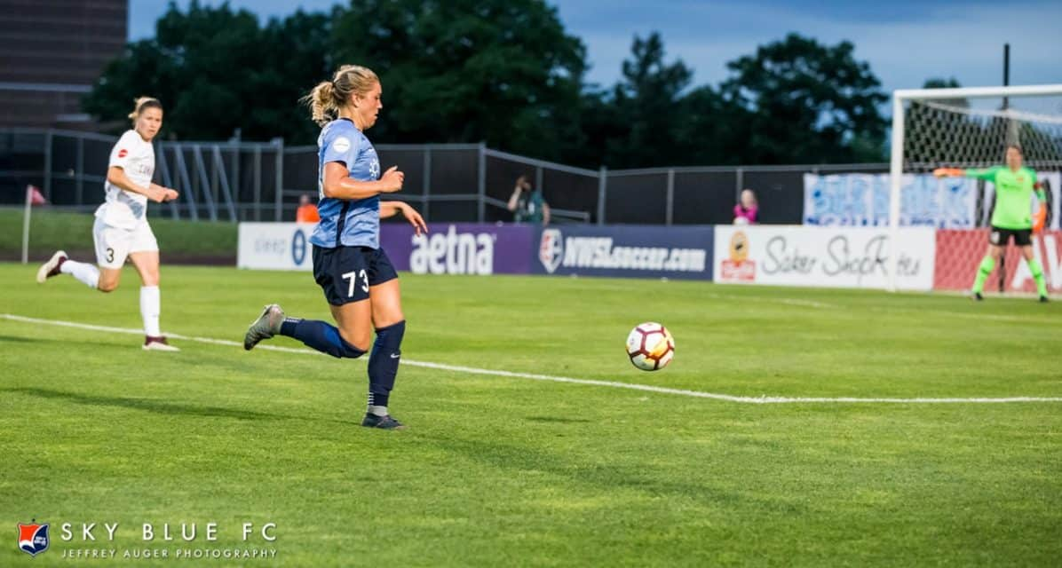 HERE WE GO AGAIN: Sky Blue FC continues to vie for 1st win, hosts Utah
