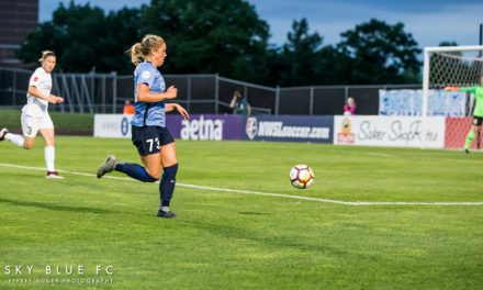 OUT AGAIN: Sprained ankle sidelines Sky Blue FC's Tiernan from Challenge Cup
