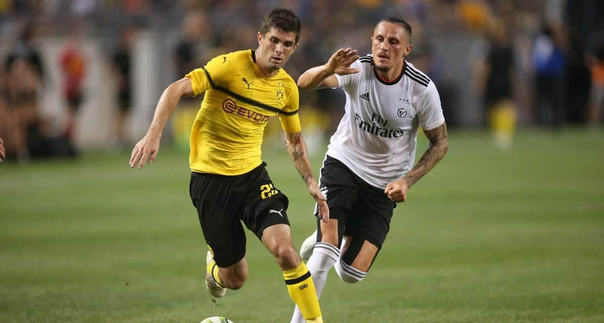PULISIC 4, MARSCH 1: Dortmund rolls past RB Leipzig in opener, 4-1, as U.S. international makes his impact vs. ex-Red Bull coach's team