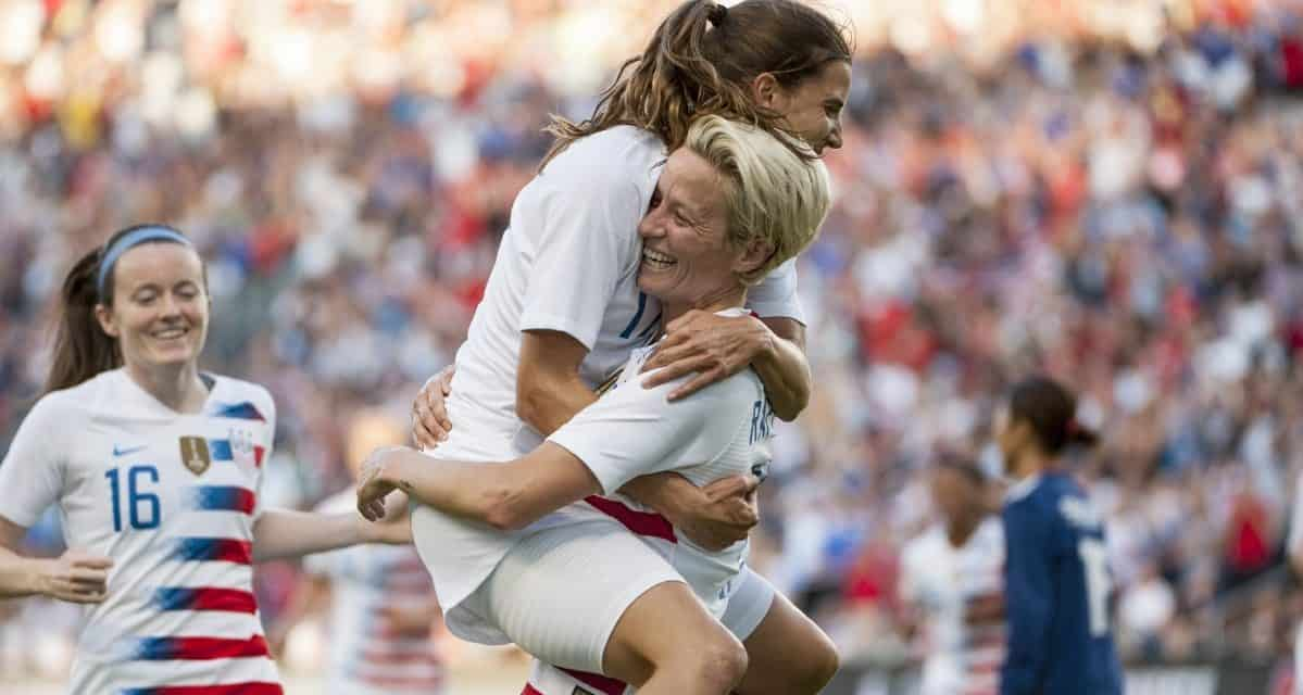CHAMPION OF NATIONS: U.S. roll past Brazil, 4-1, win Tournament of Nations