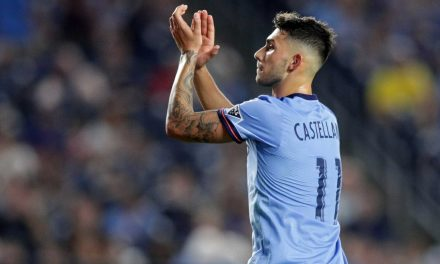 VALENTIN'S DAY IN AUGUST: Castellanos,19, given surprise start, scores in NYCFC debut