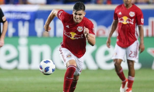 BRIAN'S SONG: Rookie forward scores game-winner for Red Bulls, who move atop the East