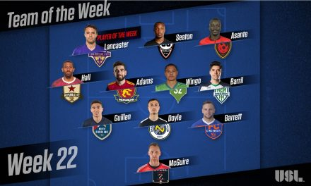 THANK YOU, RED BULL II: USL names Louisville City's Lancaster player of the week