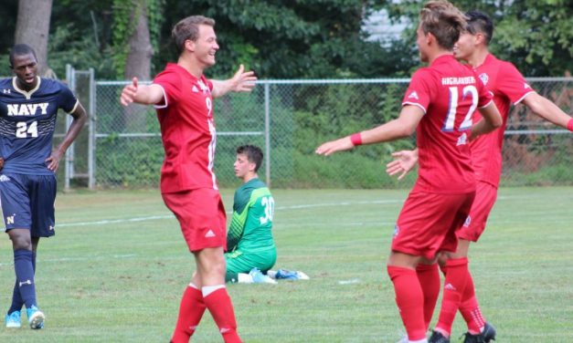 TWO QUICK GOALS: NJIT men sink Navy, 2-1