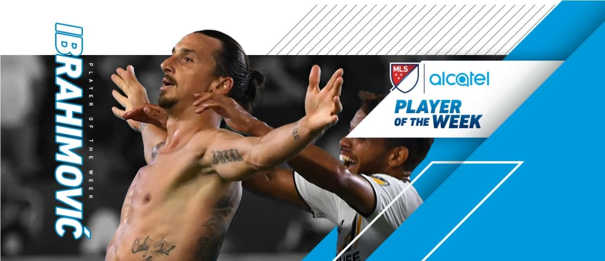 HAT'S OFF AND THEN SOME: Ibrahimovic named MLS player of the week