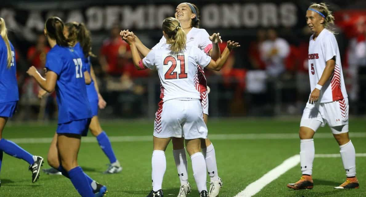 A SILVER LINING: Kajan's late goal, Bellero's brace lifts St. John's women to win as Stone is honored