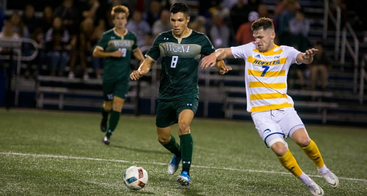 COOL HAND LUKE: Brown's late goal lifts Hofstra men