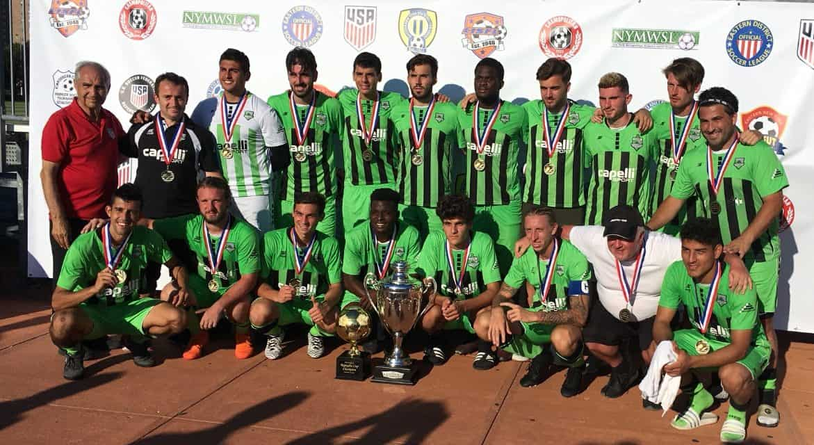 MAKING A STATEMENT: Cedar Stars Academy's win in Rapaglia Cup could be the start of something big