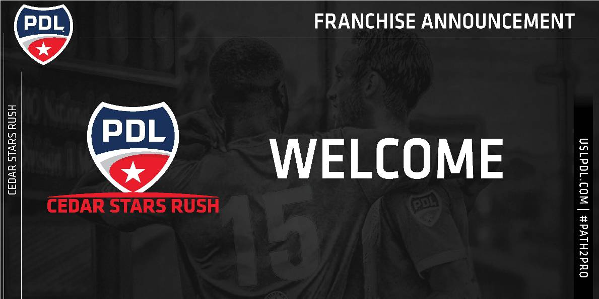 NEW VENTURE: Cedar Stars Rush joins PDL for 2019