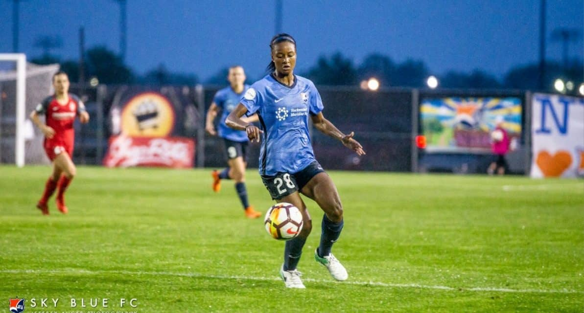ROOKIE OF THE YEAR: Sky Blue FC's Dorsey earns the honor