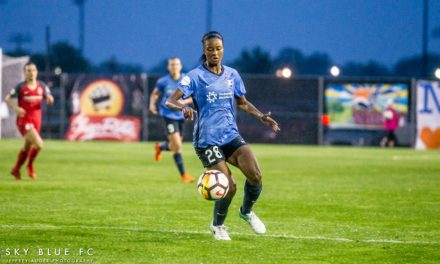SHE'S BACK FOR MORE: Dorsey signs one-year contract with Sky Blue FC
