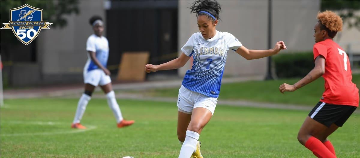 SELF-INFLICTED: 2 own goals help doom Lehman women to 5-1 loss