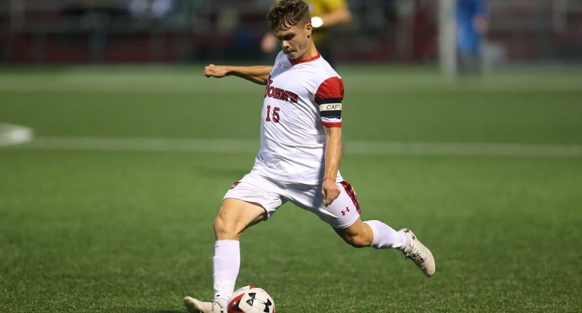 GETTING OFF ON THE RIGHT FOOT: St. John's men shut out Appalachian St.