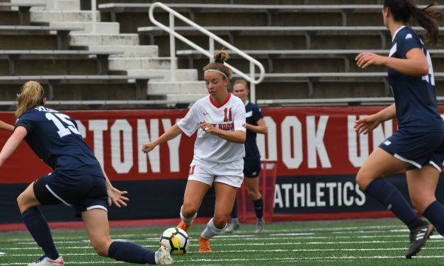 A FAMILIAR SCORE: Stony Brook women win 3rd 4-0 game this season