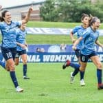 BETTER LATE THAN NEVER: Lloyd's goal helps Sky Blue FC avoid winless season