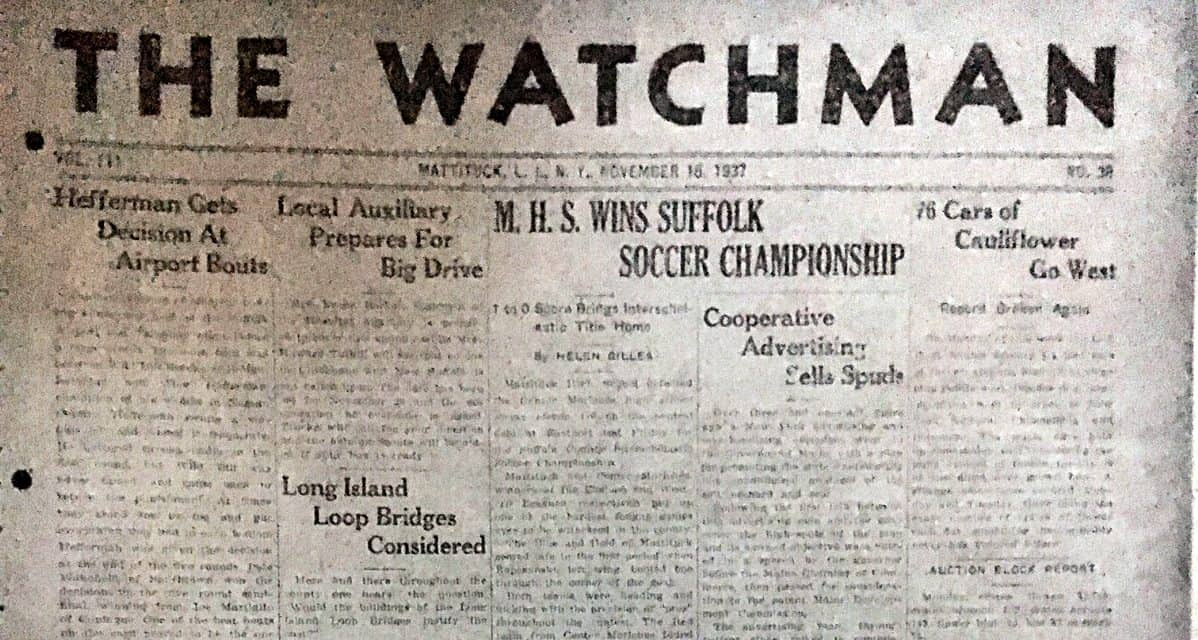 THE MOTHER OF ALL H.S. DERBIES: Mattituck, Center Moriches H.S. boys will tussle for the 81st consecutive year