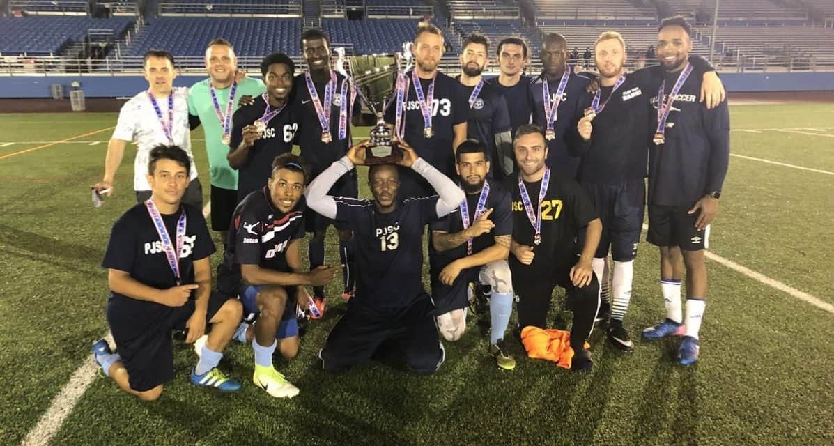 MANY SAVING GRACES: No one does it better than Rink, who makes 3 shootout saves to boost Port Jefferson to Cangero Super Cup title