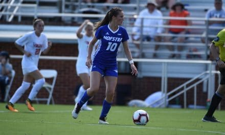 DEEP SIX: Porter's hat-trick paces Hofstra win to 6-0 rout