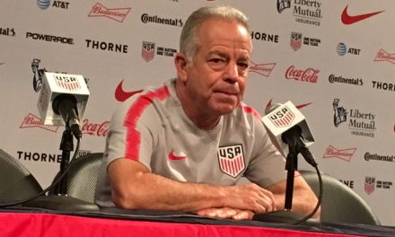 LISTEN TO DAVE: Sarachan press conference on U.S.'s defeat to Brazil