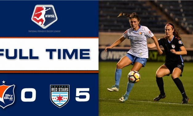 THE WORST: Sky Blue (0-17-6), routed by Chicago, will finish season with poorest NWSL record ever