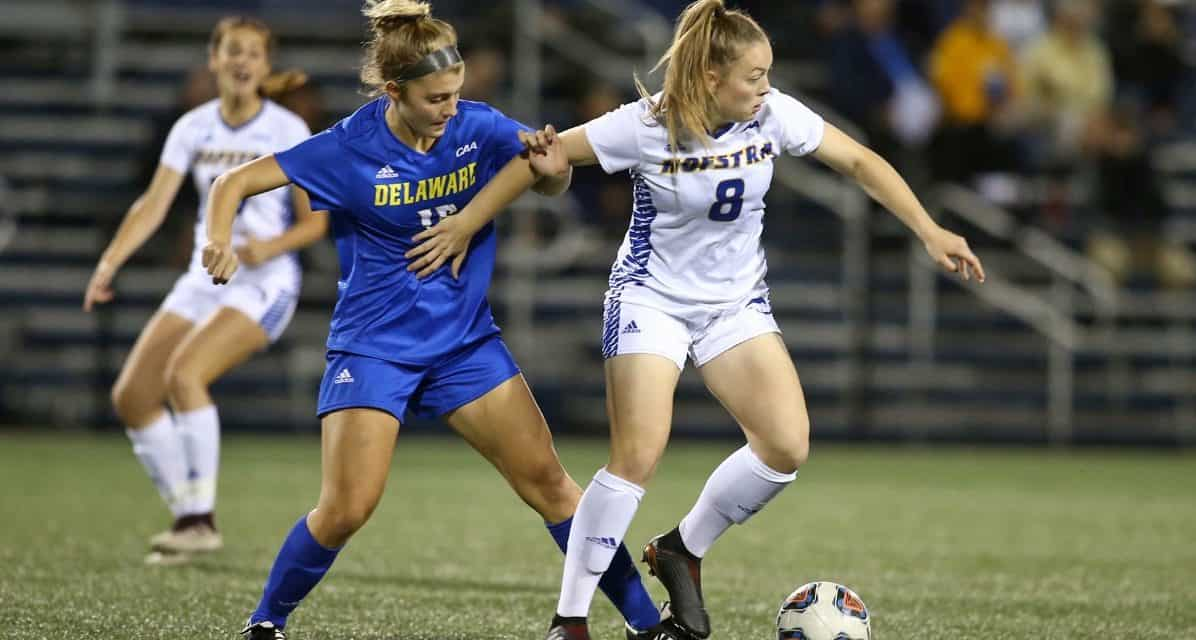 A TAYLOR-MADE WIN: Freshman's 1st goal boosts Hofstra over Delaware
