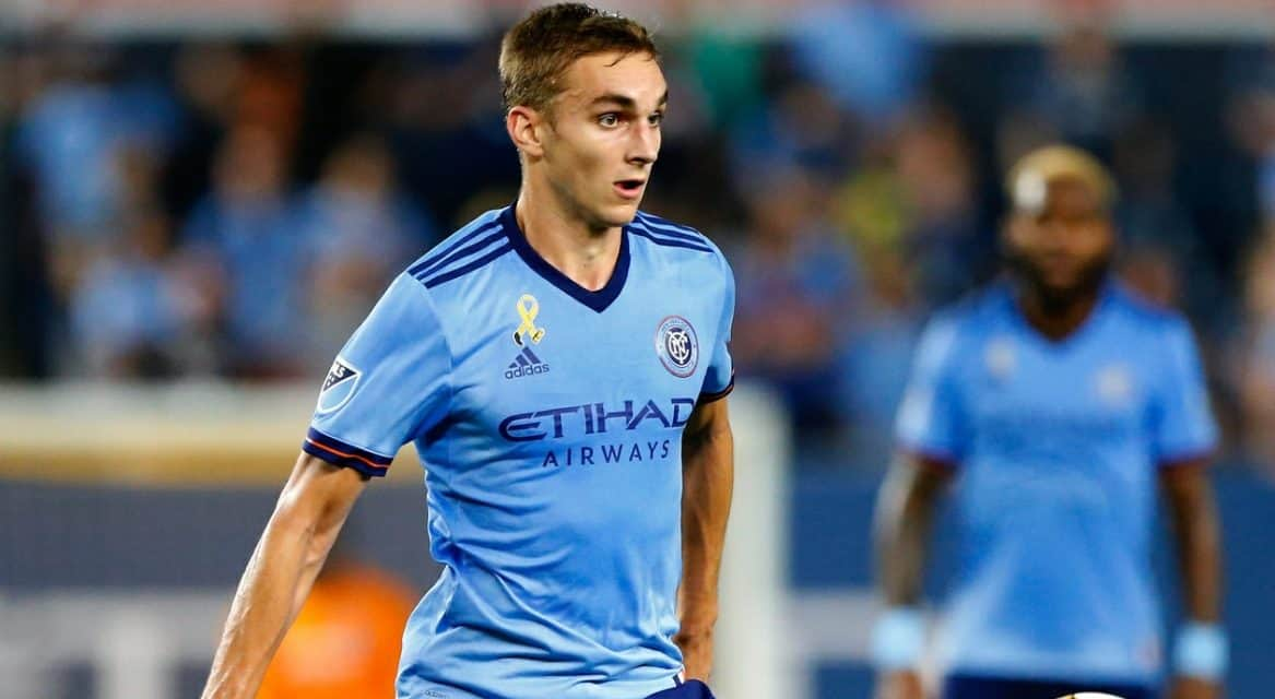 BREATHING A BIG SIGH OF RELIEF: After a long wait for a win, NYCFC hopes it will push it forward
