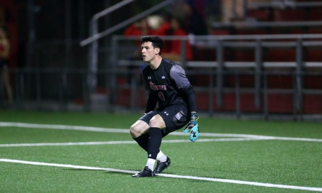 GOING FOURTH: Forster's 4th goal lifts St. John's men over Seton Hall in Big East opener