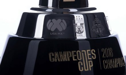 TROPHY UNVEILED: For the Campeones Cup
