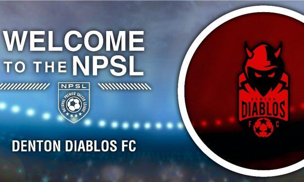 DEEP IN THE HEART OF TEXAS: Denton Diablos FC joins NPSL as an expansion team