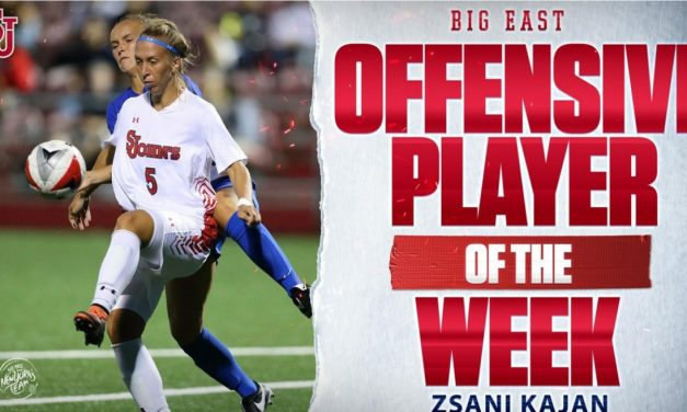 BIG EAST HONORS: St. John's forward Zsani Kajan named offensive player of week