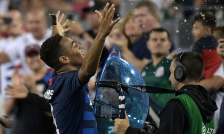 UNO A CERO: Adams' first goal boosts U.S. men over Mexico
