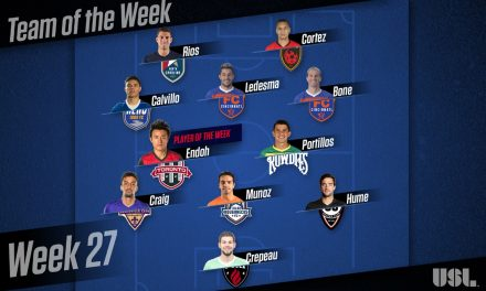 USL HONORS: Toronto FC II's Endoh named player of week; Ex-Cosmos Calvillo, Ledesma on team of the week