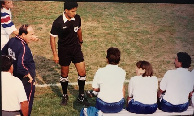 IT HARDLY WAS A FIELD DAY: In 1993, the pitch certainly was not championship caliber
