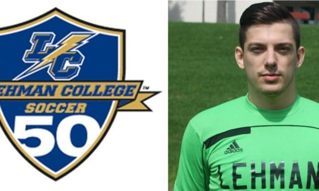 CUNYAC HONORS: Lehman GK Grunasi named rookie of the week