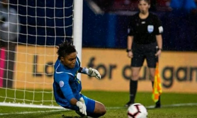 BRING IT ON! Ex-LIJSL and current Jamaica goalkeeper McClure relishes playing Australia, Brazil, Italy in Women's World Cup