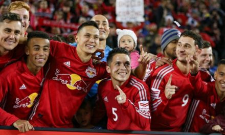 TOP OF THE HEAP AGAIN: Red Bulls wear 3rd Supporters Shield crown with 1-0 win