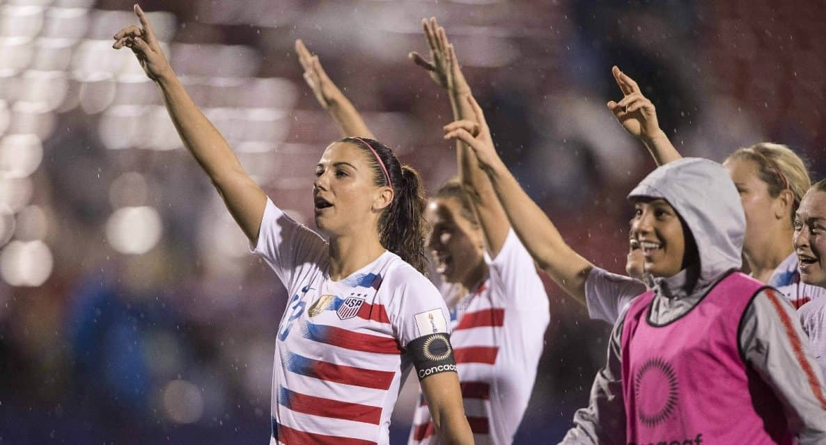 EIGHT IS ENOUGH: U.S. rolls over Jamaica to clinch its eighth consecutive Women's World Cup berth