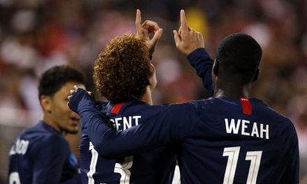 NOT JOSH-ING AROUND: Sargent's goal lifts U.S. into tie with Peru