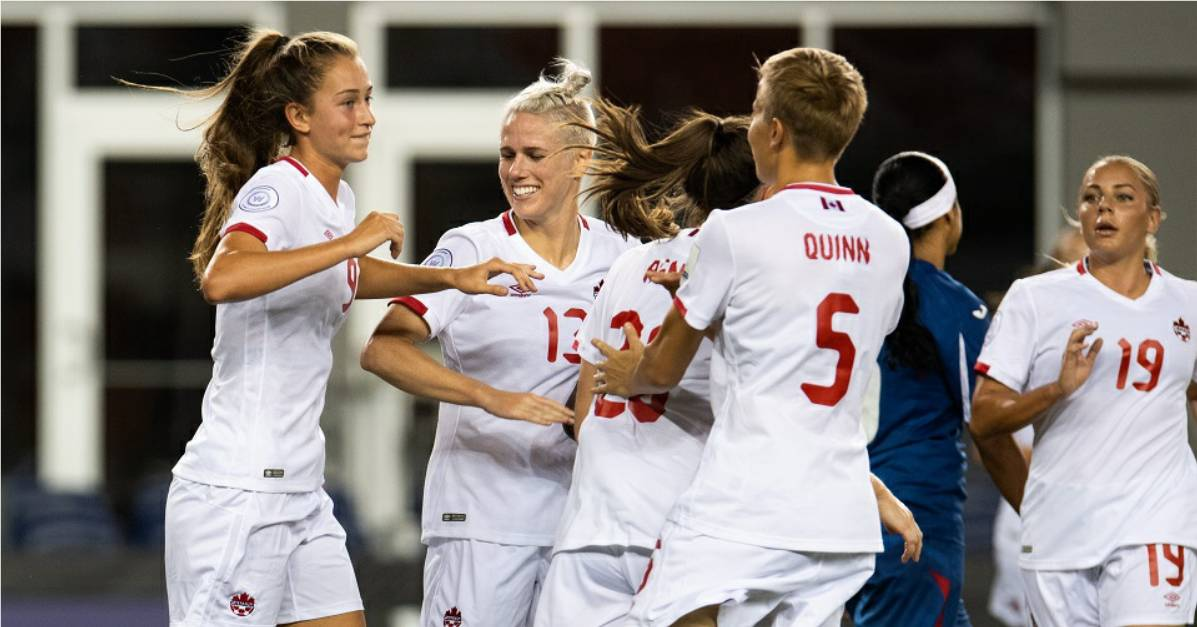 CHEAPER BY THE DOZEN: Canada routs Cuba, 12-0, in Women's World Cup qualifying