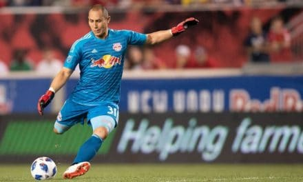 SITTING PRETTY: Red Bulls enter 2nd leg with a big advantage