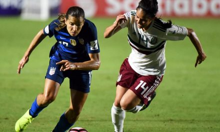 LEAVING NO DOUBT: U.S. rolls over Mexico, 6-0, in concacaf Women's Championship opener