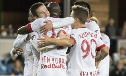 NO PROBLEM: Despite missing 2 starters again, Red Bulls romp past Quakes, stay in Shield race