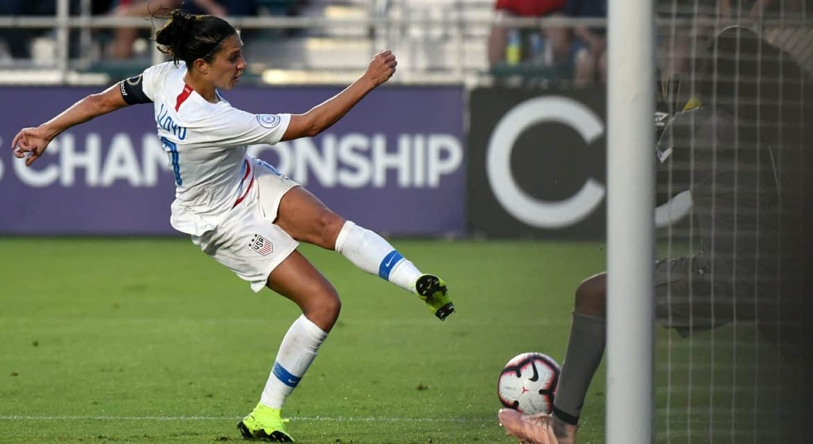 SEMIFINAL BOUND: U.S. books a spot in concacaf women's final four
