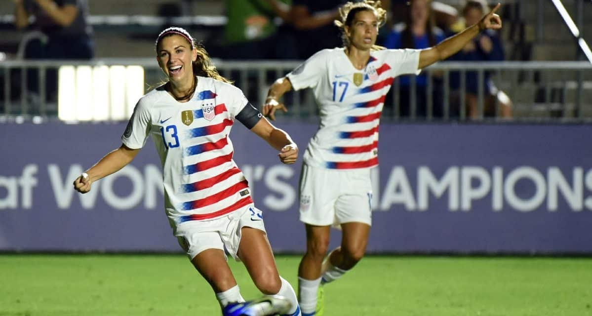 ROLLING ON: U.S. clinch group title at 2018 concacaf Women's Championship