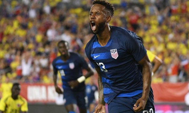 2ND-HALF SURGE: Colombia too much for young U.S. men's team in 4-2 loss