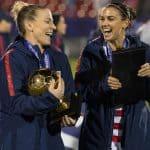 THEY'RE GOLDEN GIRLS: Ertz named tourney MVP, Morgan top goal-scorer
